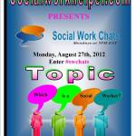 ***Updated View Archived Twitter Chat***Why aren't  All Social Workers Supported and Created Equal?