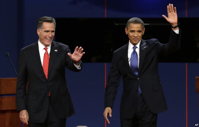Romney & Obama 1st Presidential Debate