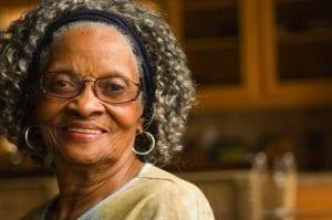 Elderly Black Woman 1