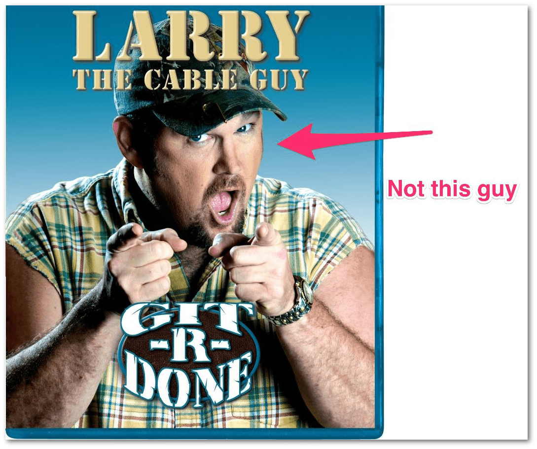 larry cable guy skitch dropshadow